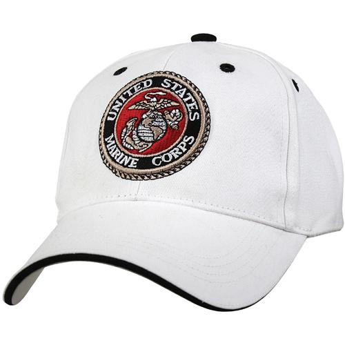 Deluxe U.S.M.C. G&A Low Profile Insignia Cap