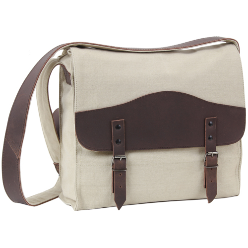 Vintage Canvas W Leather Accents Medic Bag