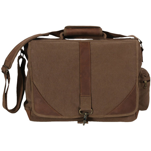 Vintage Canvas Urban Pioneer Laptop with Leather