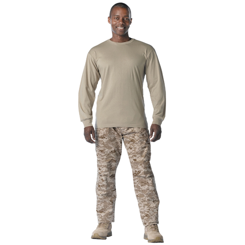 Mens Fire Retardant Long Sleeve T-Shirt