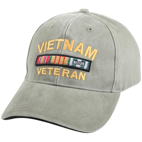 Vietnam Veteran Deluxe Vintage Low Profile Insignia Cap