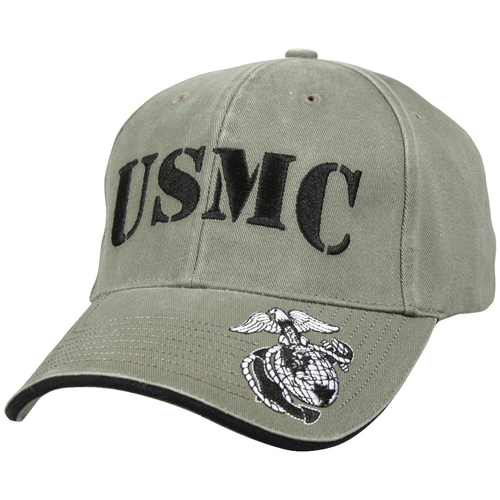Deluxe Vintage USMC Embroidered Low Pro Cap