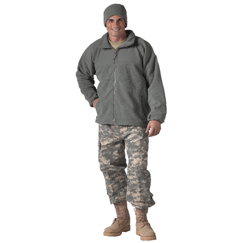 Mens Military ECWCS Polar Fleece Liner Jacket
