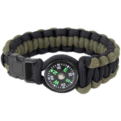 Paracord Compass Bracelet