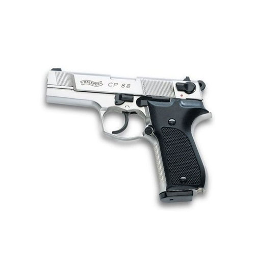 Walther CP88 Nickel Black Synthetic Grips Air Pistol