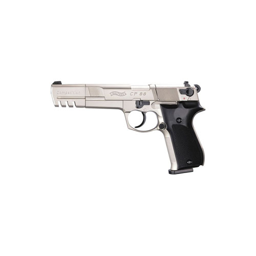 Walther Nickel Black CP88 Competition Pellet Pistol