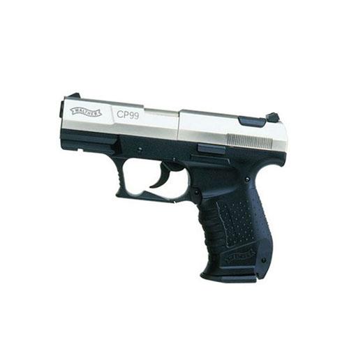 Walther CP99 Air Pistol - Nickel Slide