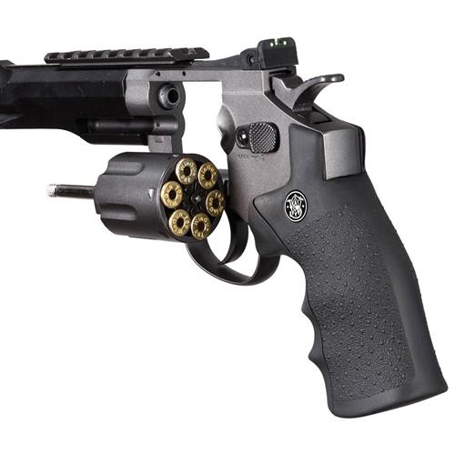 Black 327 TRR8 Airsoft Revolver Pistol