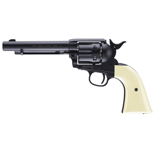 Single Action Blued Peacemaker Army CO2 Revolver