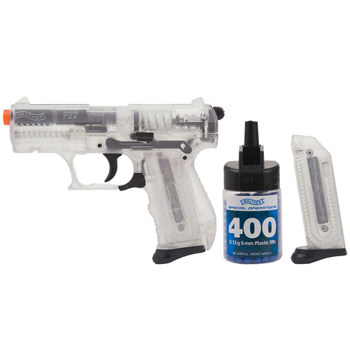 Walther Clear P22 Spring Airsoft Gun