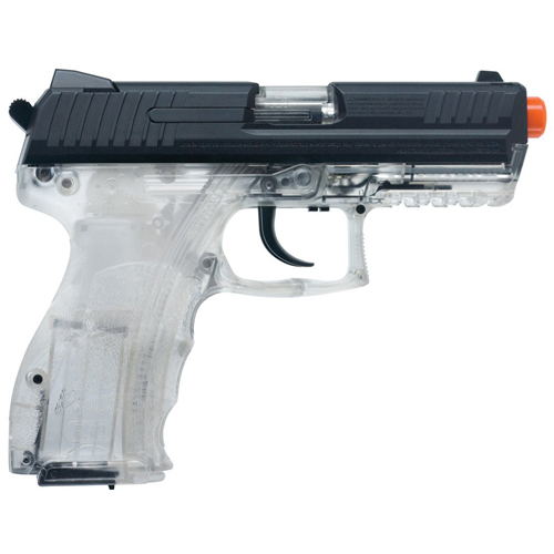 Clear P30 Spring with Metal Slide Airsoft Gun