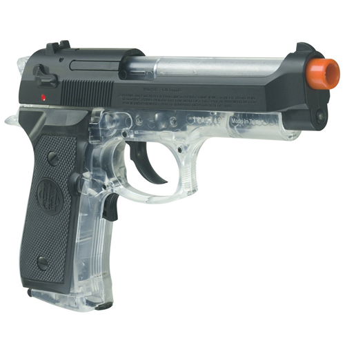 92 FS Electric Clear Airsoft Pistol