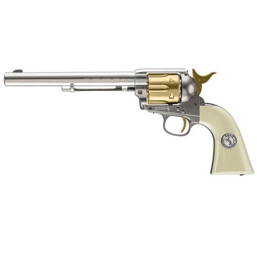 Peacemaker Nickel & Gold Pellet Pistol