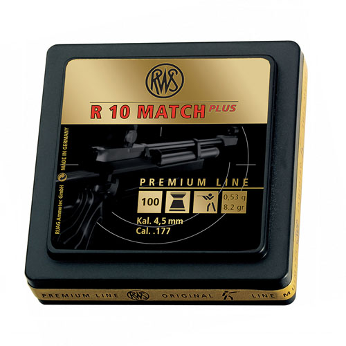 RWS R10 Match Plus Pellets - 4.5mm