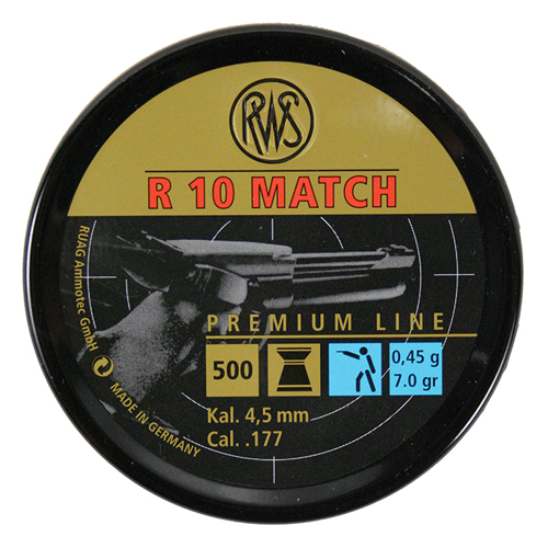 RWS R10 Match Pellets Airgun Ammunition