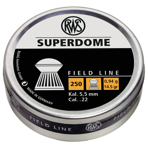RWS Superdome Field Line 0.22 Caliber Airgun Ammunition