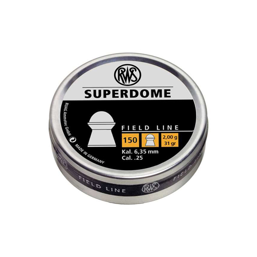 RWS Superdome Field Line 0.25 Caliber Airgun Ammunition
