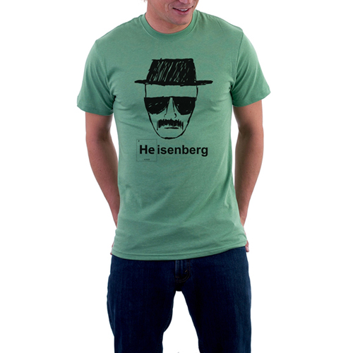 Heisenberg Custom Printed T-shirt