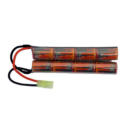 1600mAh 9.6V Ni-MH Butterfly Battery