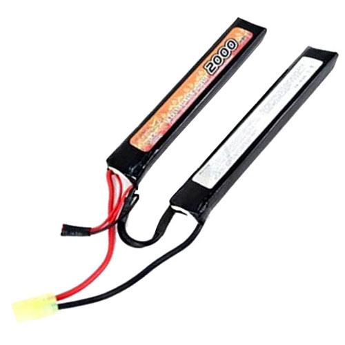 LiPO1300H15C-7.4V-2 15C Cont. LiPO Battery