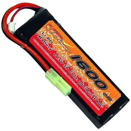 VB VB-LiPO1600H20C-11.1V-1 20C Cont. LiPO battery