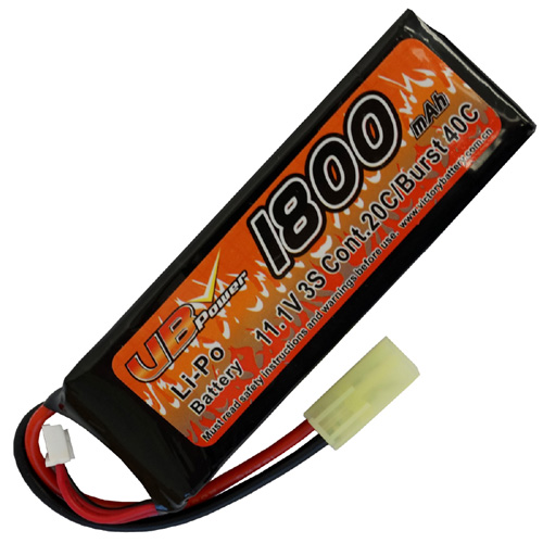 1800mAh 11.1V LiPO 20C Battery