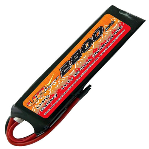 VB VB-LiPO2800H25C-11.1V 25C Cont. LiPO battery