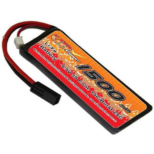 VB VB-LiFe-1500H20C-9.9V-1 20C Cont. Discharge Current LiFe Battery