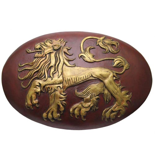 Valyrian Steel Game of Thrones Lannister Shield