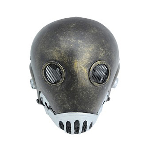 Metal Mesh hell jazz Full Face Fiberglass Airsoft Mask