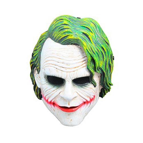 Metal Mesh Clown Fiberglass Full Face Mask