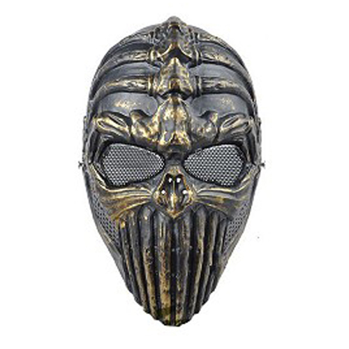 Spine Tingler Airsfot Mask - Antique Brass Finish