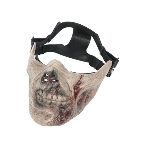 M05 Zombie WS23656ZB Half Face Mask
