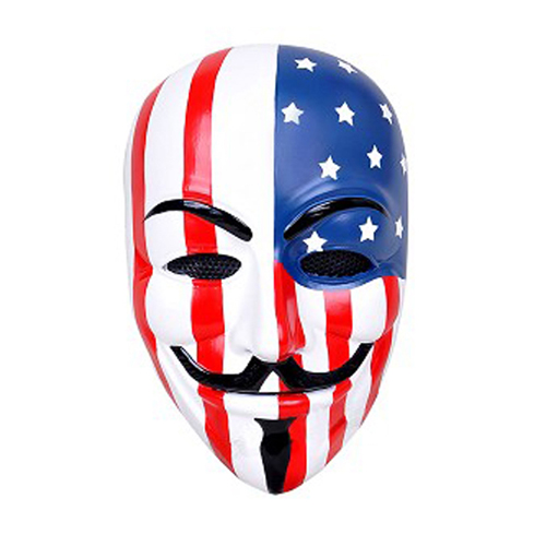 USA V for Vendetta Airsoft Mask