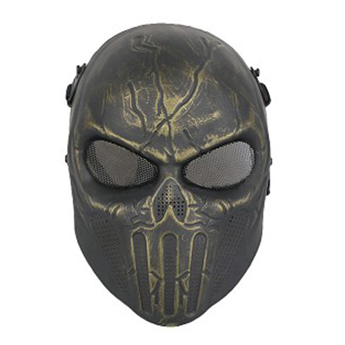 Punisher Airsfot Mask - Antique Brass Finish