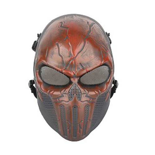 Punisher Airsfot Mask - Red Blood Finish