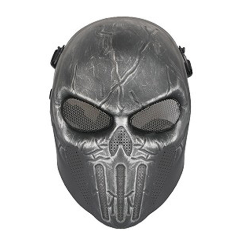 Punisher Airsfot Mask - Antique Silver Finish