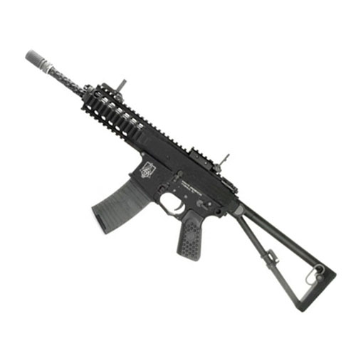 WE PDW Open Bolt System Standard C02 Airsoft Gun