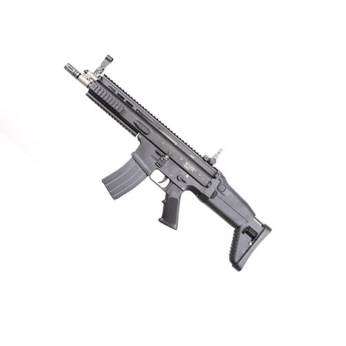 WE FN Scar-L GBB Black Open Bolt Airsoft Rifle