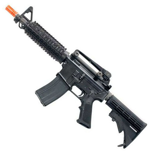 WE Tan M4 CQBR GBB Rifle