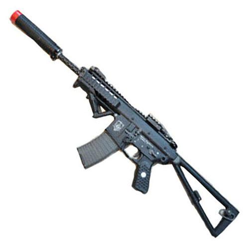 WE Tan AWSS KAC PDW 10 Inch Open Bolt Version Airsoft Rifle