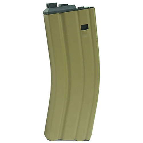 WE Green Gas Tan Magazine For Open Bolt M4 Scar