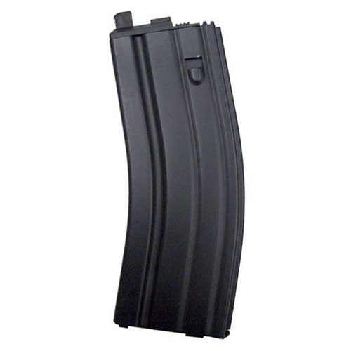 WE Green Gas Black Magazine For Open Bolt M4 Scar