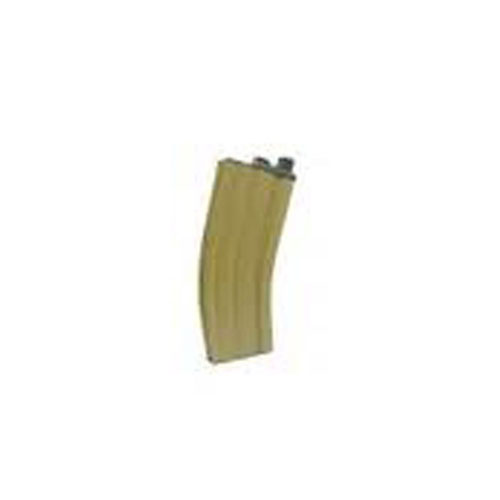 WE GBB CO2 Tan Magazine For Open Bolt M4 Scar