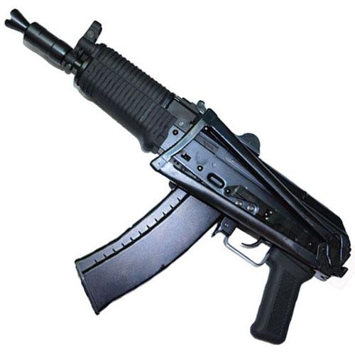 WE AK-74UN Gas Blow Back Black Airsoft Rifle