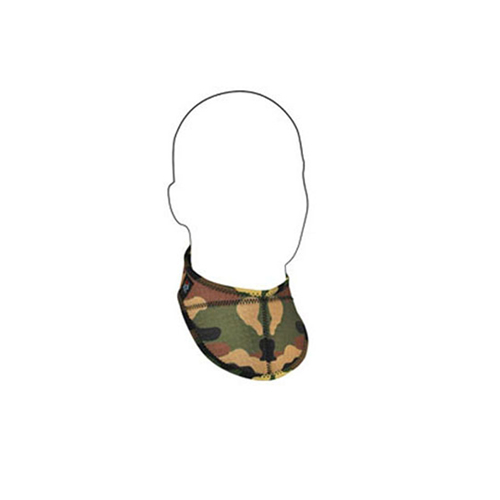 Neoprene Airsoft Woodland Camo Neck Protector