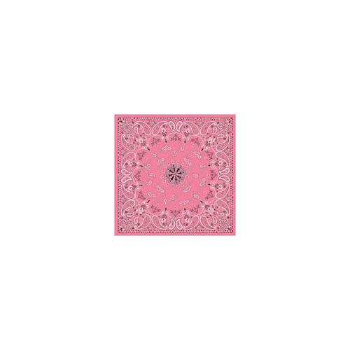Pink Paisley Bandanna