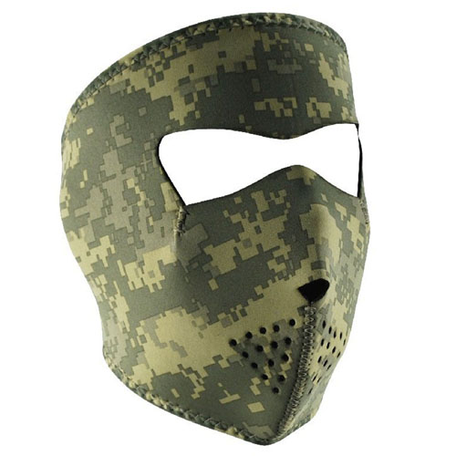 Neoprene Digital ACU Camouflage Face Mask