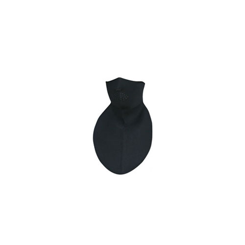 Neoprene Neck Shield Black Half Face Mask