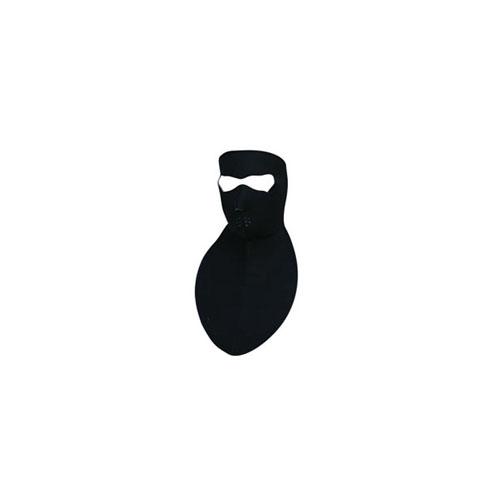 Neoprene Neck Shield Black Face Mask